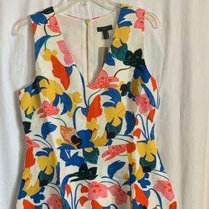 J Crew Floral Dress • Size 10 • NWT